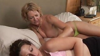 Mature Female vs Young Girl 24